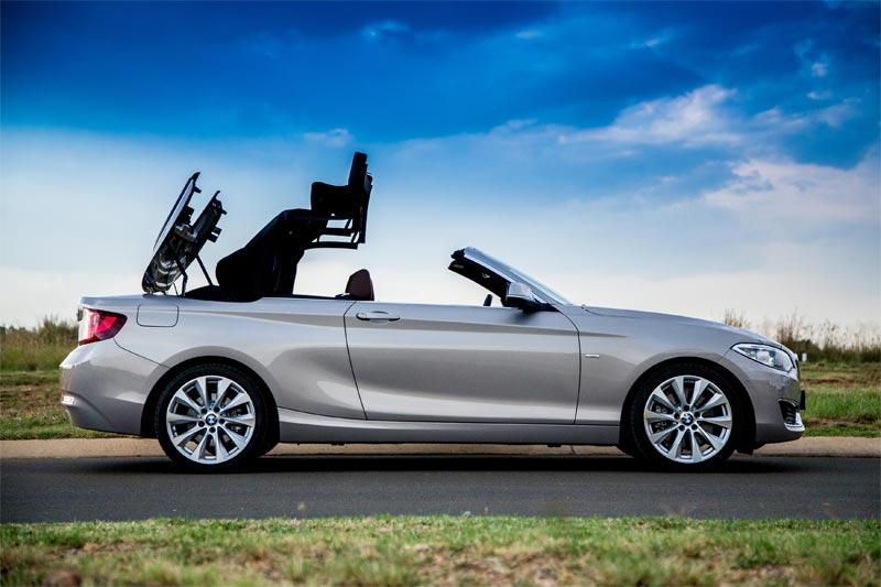 BMW 2 Series Convertible Review - 220i Luxury - Bikeshop